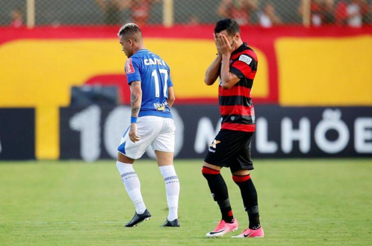 Com o resultado, Vitória volta a ser o pior mandante do Brasileirão - Foto: Raul Spinassé |  Ag.  UMA TARDE
