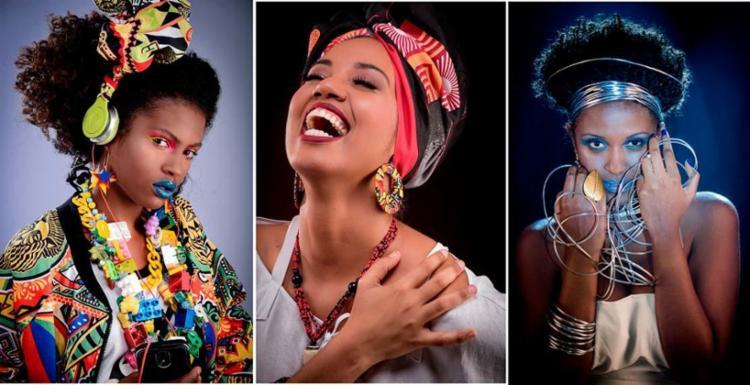 A beleza da mulher negra é objeto da Exposição Traços 2017 - Foto: Alex Dantas | Divulgação