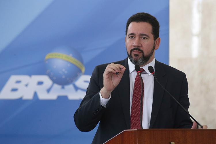 Cayo Oliveira informou que a participação da União é de quase 60% - Foto: Antonio Cruz |Agência Brasil Divulgação | 23.08.2017