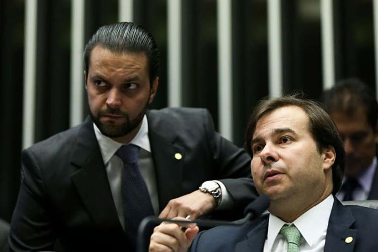 Alexandre Baldy é ligado ao presidente da Câmara, Rodrigo Maia - Foto: Agência Brasil