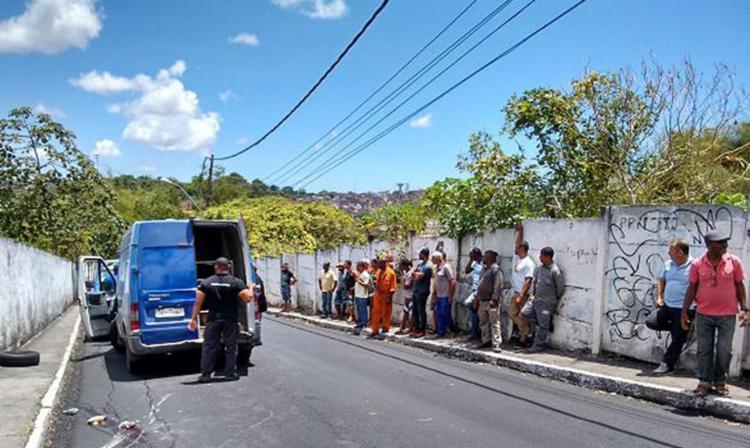 Reinaldo Alves Borges foi morto por dois homens em uma moto na ladeira da Pedra - Foto: Euzeni Daltro l Ag. A TARDE