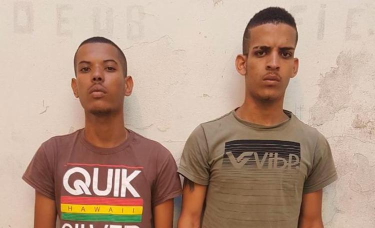 A dupla já tem passagens pela polícia - Foto: Divulgação | SSP-BA