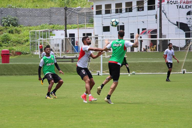 Leão deve ter mudanças no time para enfrentar a Macaca no domingo - Foto: Maurícia da Matta l EC Vitória