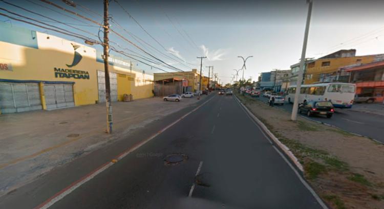 O acidente aconteceu próximo a Madeireira Itapoan - Foto: Reprodução | Google Maps