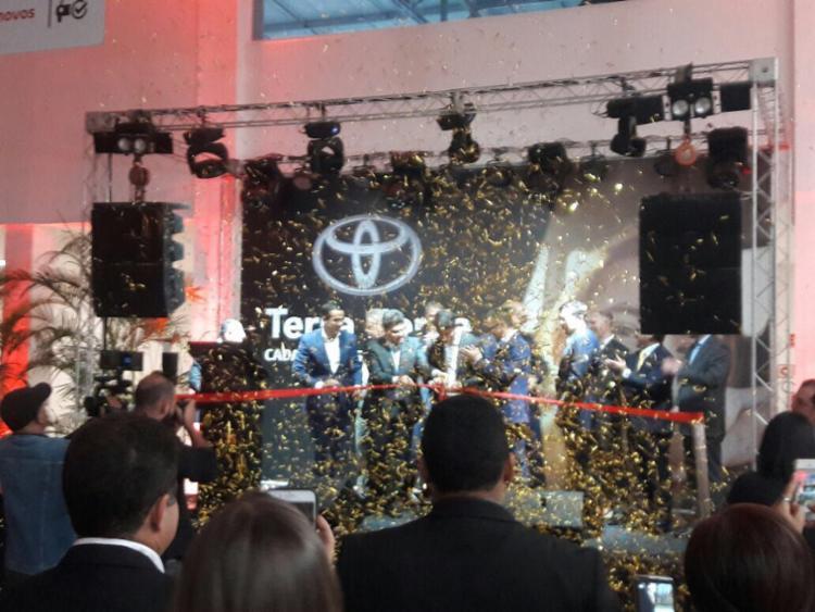 Inauguração contou com a presença do presidente da Toyota do Brasil e executivos da marca - Foto: Divulgação