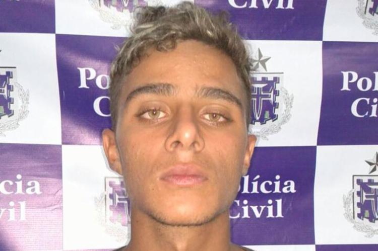 Dionatan foi conduzido ao Complexo Policial de Juazeiro - Foto: Divulgação | Polícia Civil