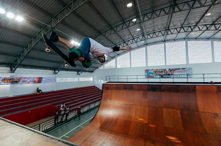 Mineirinho pensa em competir na próxima Olimpíada na categoria park, em Tóquio-2020 - Foto: Walter de Abreu l Divulgação