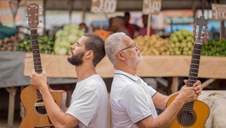 Roberto e João Mendes fazem uma homenagem à forte música do Recôncavo - Foto: Divulgação