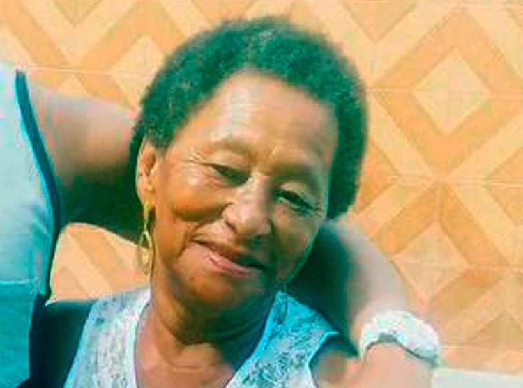 A idosa foi morta após ter sido feita de refém dentro de casa em Cachoeira - Foto: Fábio Santos | Voz da Bahia