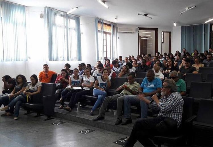 Categoria decidiu manter a greve em assembleia - Foto: Divulgação | Assufba