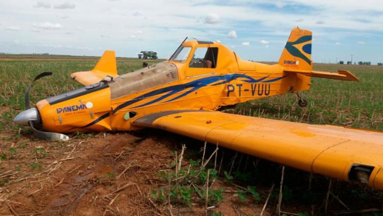 O piloto não corre risco de morte - Foto: Divulgação | PM-BA
