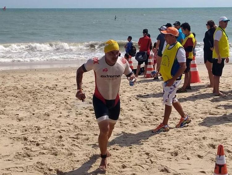 Genilson desapareceu neste domingo durante uma prova da competição conhecida como IronMan Brasil - Foto: Reprodução | Facebook