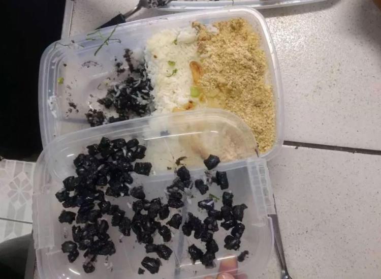 Droga estava misturada com arroz e farofa - Foto: Divulgação