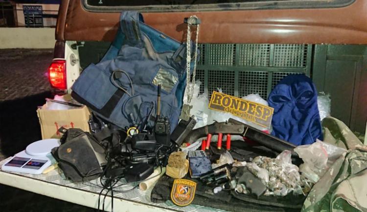 Material foi apreendido pela polícia no imóvel - Foto: Divulgação | SSP