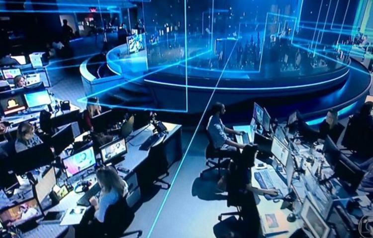 Homem foi identificado pelas câmeras de segurança da Globo - Foto: Reprodução   TV Globo