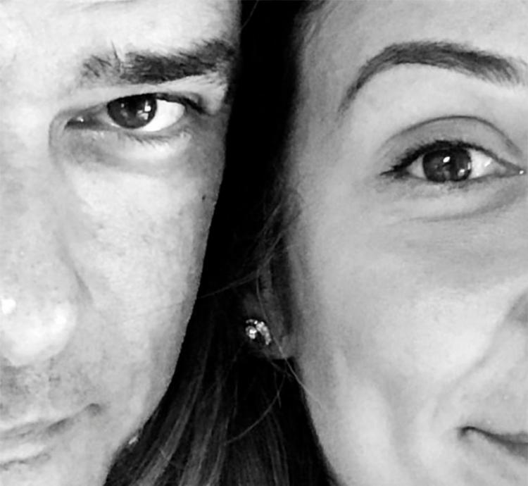 Essa é a primeira vez que o jornalista publica uma foto com a nova amada - Foto: Reprodução | Instagram