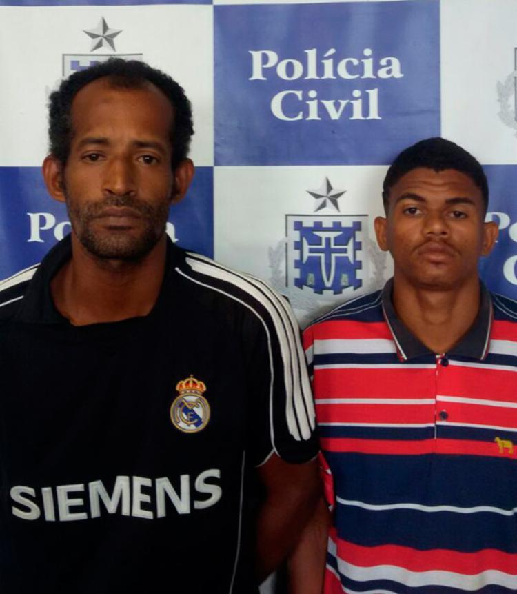 Suspeitos foram levados para o sistema prisional - Foto: Divulgação   SSP