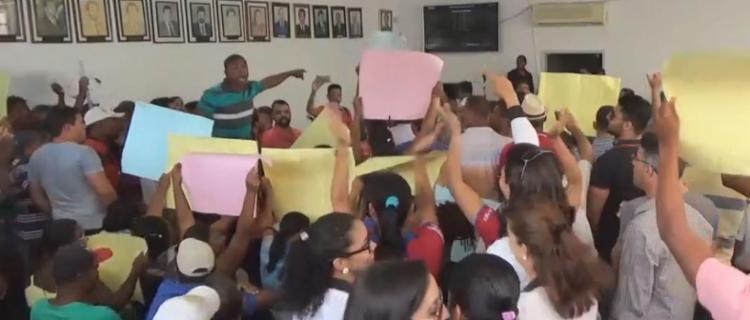 Manifestantes protestaram contra reajuste - Foto: Reprodução | YouTube