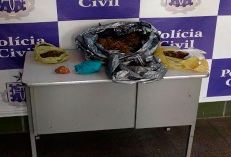 Material apreendido pela polícia durante ação na região de Senhor do Bonfim - Foto: Divulgação | SSP-BA