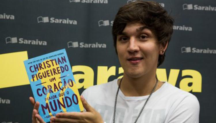 Christian Figueiredo lança livro - Foto: Divulgação