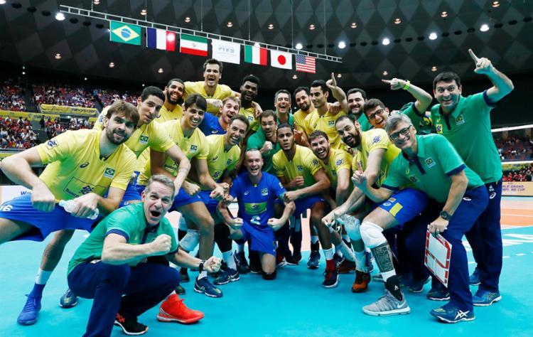 Vôlei masculino tentará o tetracampeonato no Mundial - Foto: Divulgação | FIVB