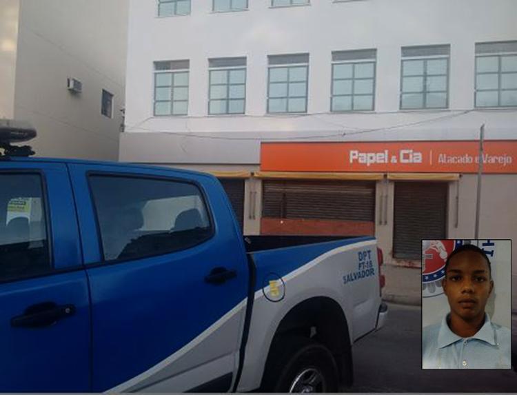 Vitinho foi baleado quando tentou assaltar a papelaria no Comércio e segue internado no HGE - Foto: Divulgação l Polícia Civil e Andrezza Moura l Ag. A TARDE