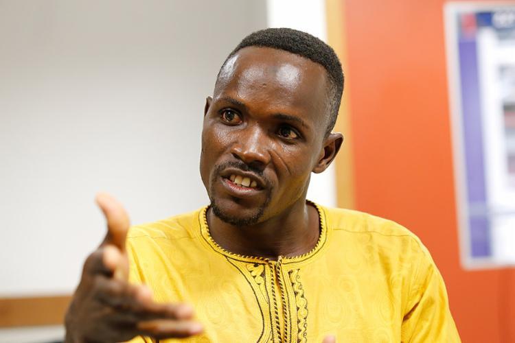 Zakari Aboudouraoufou deixou o Togo em busca de oportunidade - Foto: Margarida Neide l Ag. A TARDE l 13.10.2017