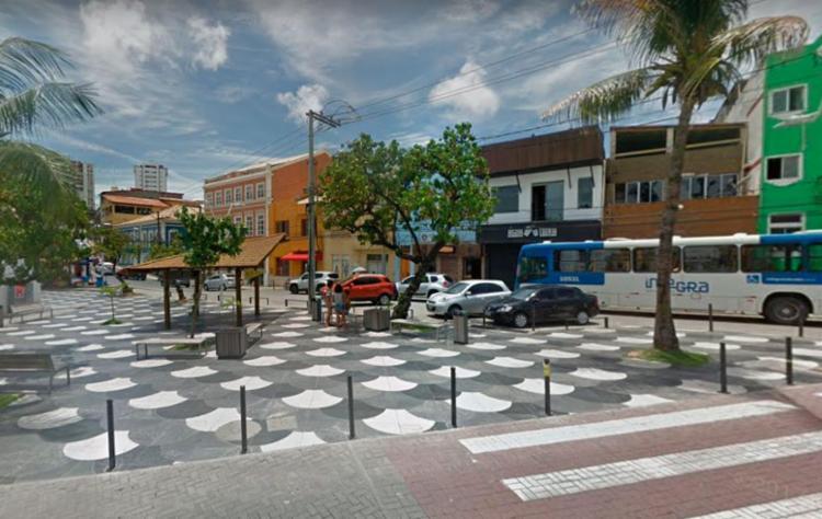 Crime aconteceu, por volta das 3h deste domingo, no Largo de Santana - Foto: Reprodução | Google Maps