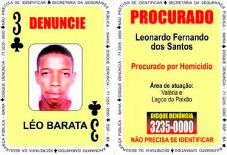 Léo Barata atuava no bairro de Valéria e na localidade da Lagoa da Paixão - Foto: Divulgação | SSP-BA