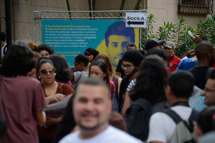 Candidatos fizeram no domingo, 5, as primeiras provas do Enem - Foto: Tomaz Silva l Agência Brasil