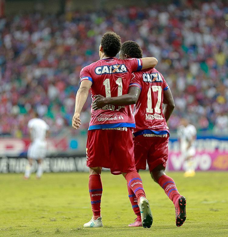 Com sete gols cada, dupla está em grande fase no Brasileirão - Foto: Marcelo Malaquias l EC Bahia