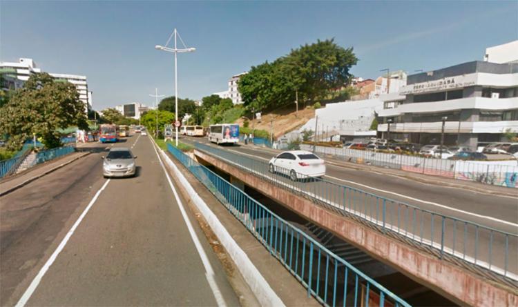 O caso aconteceu em frente ao Sesc Aquidabã - Foto: Reprodução | Google Maps