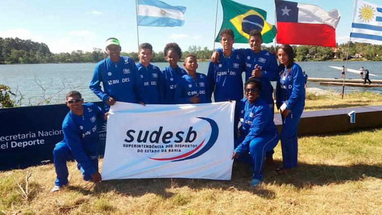 A delegação baiana foi composta por seis atletas e dois treinadores - Foto: Divulgação | Sudesb