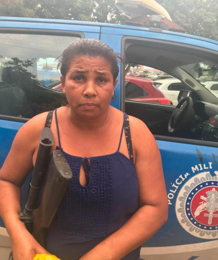 Josete foi encaminhada à Delegacia Territorial de Feira de Santana) - Foto: Divulgação | SSP-BA