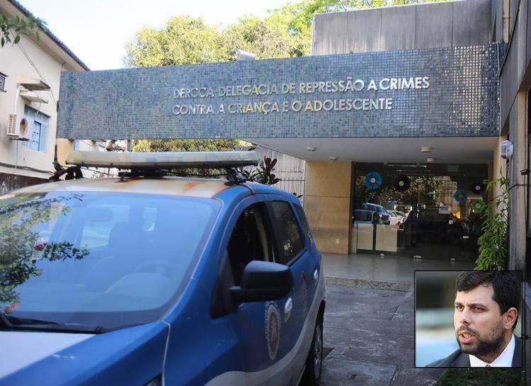 Caso está sob investigação da Derc; advogado (detalhe) deve apresentar PM ainda nesta semana - Foto: Joá Souza l Ag. A TARDE