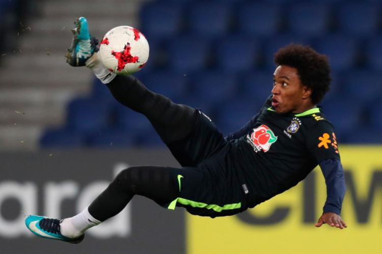 Willian será o 14º capitão da Seleção Brasileira no comando de Tite - Foto: Lucas Figueiredo | CBF