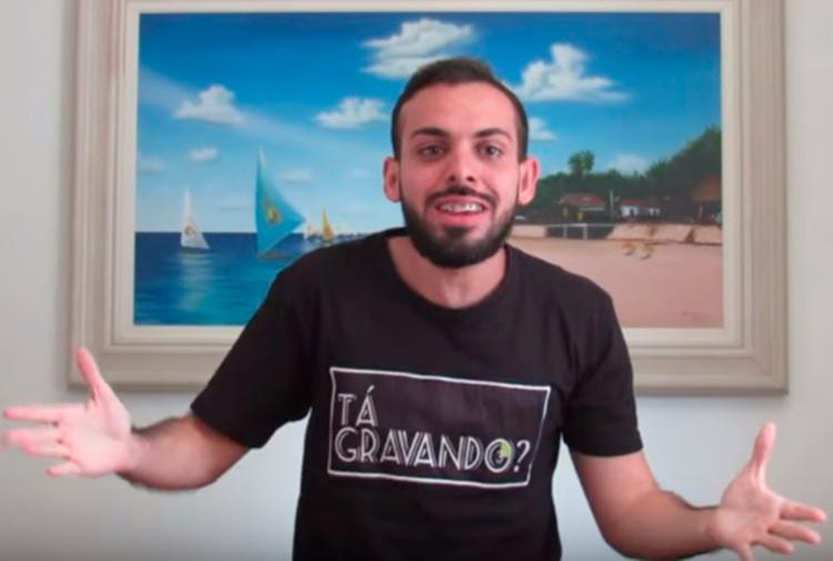 Italo gravou um vídeo onde explicou sobre a prisão - Foto: Reprodução | YouTube