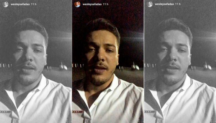 O cantor utilizou sua conta no Instagram para explicar a situação - Foto: Reprodução | Instagram