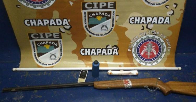 Material é encontrado na zona rural de Novo Horizonte - Foto: Divulgação | SSP