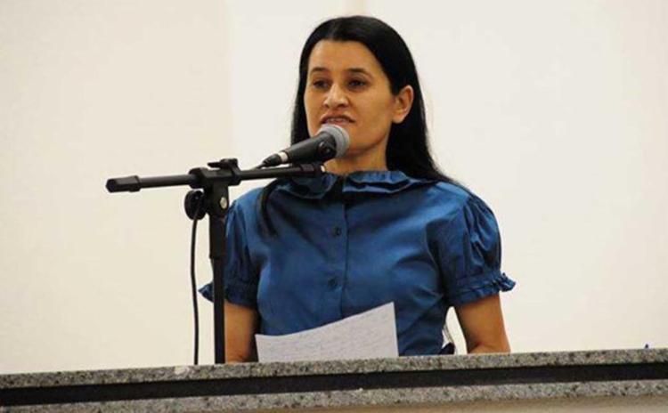 Jusmari Oliveira foi denunciada por irregularidades em convênios com a Conder - Foto: Reprodução | Jornal Grande Bahia
