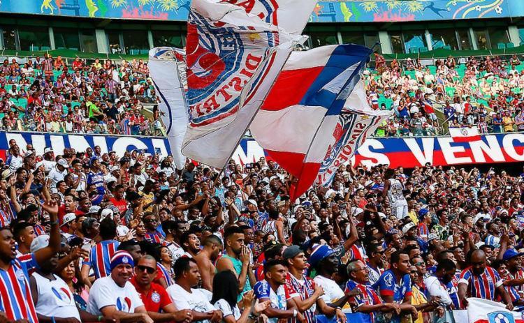 Clube espera mais de 40 mil torcedores no domingo - Foto: Marcelo Malaquias l EC Bahia