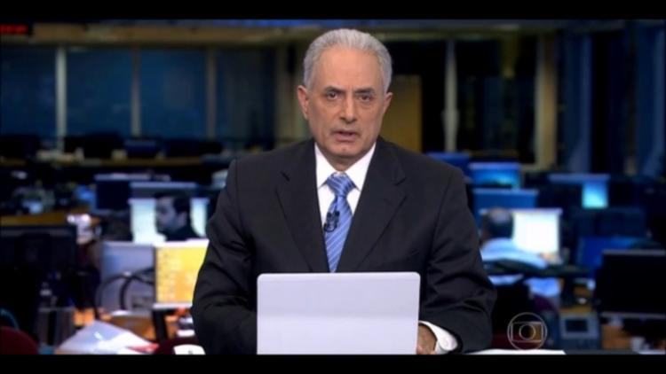 Jornalista comandava o Jornal da Globo - Foto: Reprodução | TV Globo