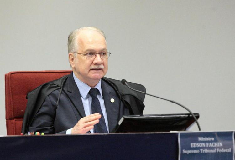 Fachin falou sobre ameaças e preocupação com segurança da família - Foto: Carlos Moura | SCO| STF | Divulgação | 05.06.2017