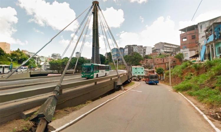 Caso aconteceu próximo a Estação da Lapa - Foto: Reprodução | Google Maps