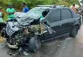 Três morrem e três ficam feridos em acidente na BA-001 | Foto: Reprodução | Voz da Bahia