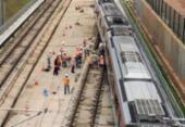Operação na Linha 2 do metrô é normalizada após incidente com trem | Foto: Raul Spinassé | Ag. A TARDE