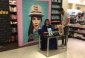 Raiza Costa, a Rainha da Cocada, lança livro e lota shopping de Salvador | Foto: Brenda Ramos l Ag. A TARDE