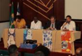 Evento discute ações de fomento para entidades de matriz africana | Foto: Alessandra Lori l Ag. A TARDE