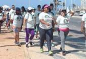 Caminhada na orla de Salvador alerta para risco da obesidade | Foto: Divulgação