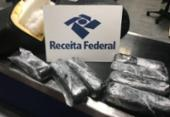 Passageiro é preso com tabletes de haxixe no aeroporto de Salvador | Foto: Divulgação | Receita Federal